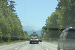 Heading towards Snoqualmie Pass
