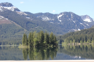 Keechelus Lake, just east of Snoqualmie Pass