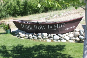 The boat at Hard Row to Hoe