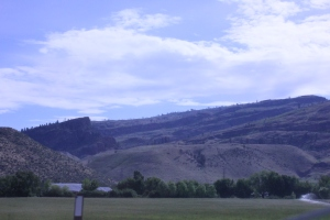 Scenery between Omak and the Canadian border