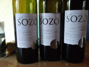 The Sozo Wines Red Lineup