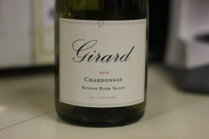 2010 Girard Chardonnay