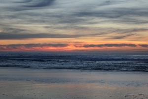 My current favorite picture...taken on the beach in Lincoln City, Oregon on 1/17/14