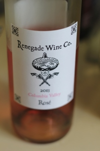 Renegade Wine Company 2013 Columbia Valley Rosé