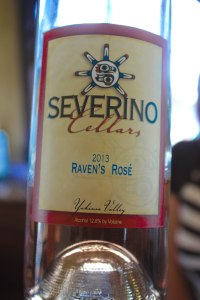 Severino Cellars Raven Rosé