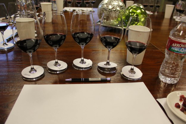 Malbec Vertical at Hogue